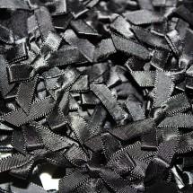 Small Ribbon Bow - Black