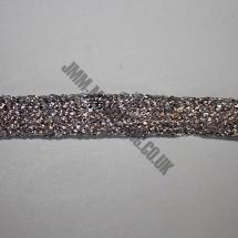 "Braid Ribbon 25mm (1"") - Silver"
