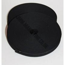 """Bias Binding 1/2"""" (12mm) - Black - Roll 33 metres"""