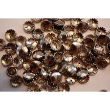 Metal Cover Buttons - Nickel 11mm