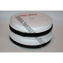 """Touch and Close - Stick and Sew 3/4"""" - Black - Roll Price"""