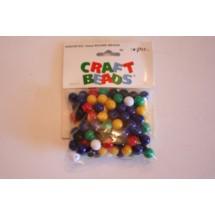 Plastic Round Beads - 10mm