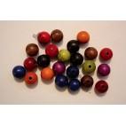 Wooden Round Beads - 12mm