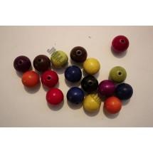 Wooden Round Beads - 18mm