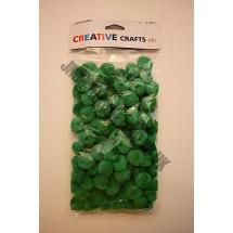 Pom Poms - Green