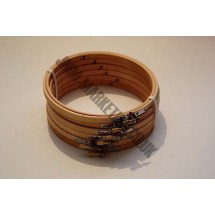 """Round Embroidery Frame - Wooden - 6"""" - 6 Pack"""