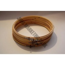 """Round Embroidery Frame - Wooden - 10"""" - 6 Pack"""