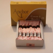 Anchor Cotton a Broder - Pink (48)