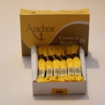 Anchor Cotton a Broder - Yellow (290)
