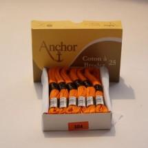 Anchor Cotton a Broder - Orange (304)