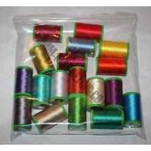 Alcazar Machine Embroidery 200m - 18 Pack
