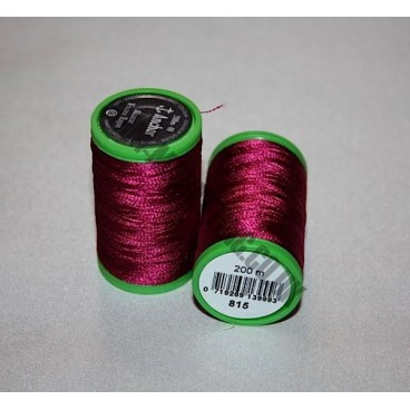 Alcazar Machine Embroidery 200m - Burgundy