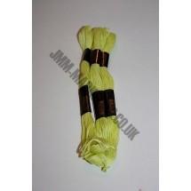 Trebla Embroidery Silks - Yellow (206)