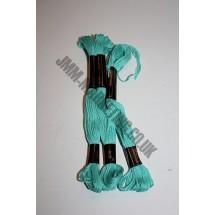 Trebla Embroidery Silks - Green (606)