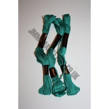 Trebla Embroidery Silks - Green (6075)