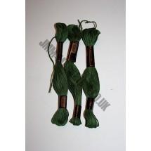 Trebla Embroidery Silks - Green (719)