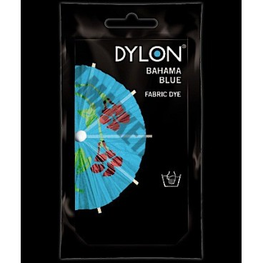 dylon hand dye 50g bahama blue jmm marketing ltd. Black Bedroom Furniture Sets. Home Design Ideas