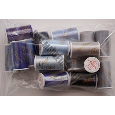 Lesur 100m Colour Pack Blue/Grey - Half Pack