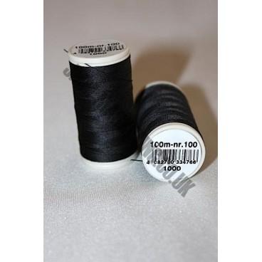 Coats Duet 1000m - Black 1000  (S002)