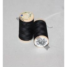 Coats 100% Cotton 100m - Black