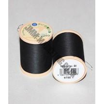 Coats 100% Cotton 1000m - Black