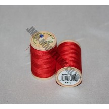Coats Coloured 100 % Cotton Thread - Red