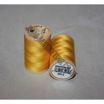 Coats Coloured 100 % Cotton Thread - Yellow