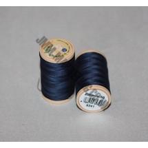 Coats Coloured 100 % Cotton Thread - Navy
