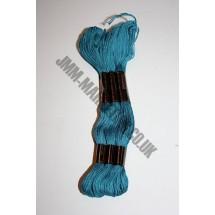 Trebla Embroidery Silks - Turquoise (858)