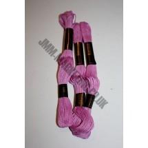 Trebla Embroidery Silks - Cerise (608)