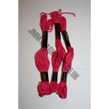 Trebla Embroidery Silks - Cerise (118)