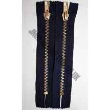 """Jean Zips 6"""" (15cm) - Navy"""