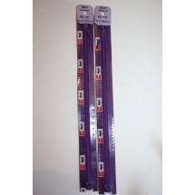 "Basque Zips 10"" (25cm) - Purple"