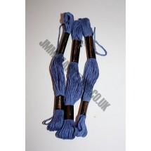 Trebla Embroidery Silks - Blue (758)