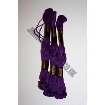 Trebla Embroidery Silks - Purple (1135)