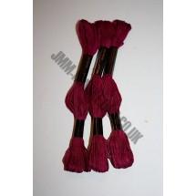 Trebla Embroidery Silks - Burgundy (406)