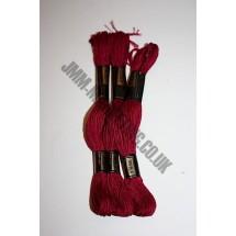 Trebla Embroidery Silks - Burgundy (409)
