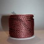 Crepe Cord - Dusky Pink - Roll Price (345)
