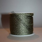 Crepe Cord - Green - Roll Price (607)