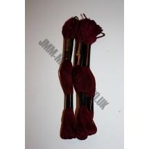 Trebla Embroidery Silks - Burgundy (410)
