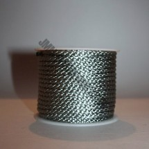 Crepe Cord - Grey - Roll Price (5707)