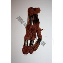 Trebla Embroidery Silks - Brown (217)