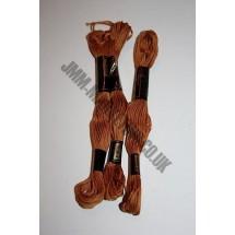 Trebla Embroidery Silks - Brown (806)
