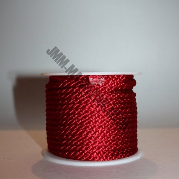 Crepe Cord - Red - Roll Price (306)
