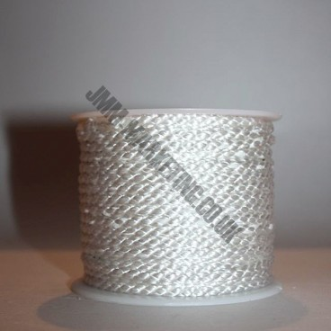 Crepe Cord - White - Roll Price (5002)