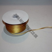 Rope Cord - Gold - Roll Price