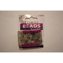 Bugle Beads - Silver