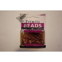 Bugle Beads - Gold