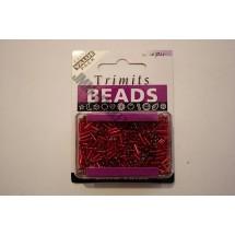 Bugle Beads - Red