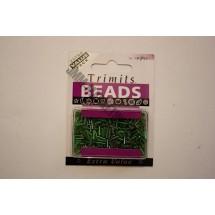 Bugle Beads - Green